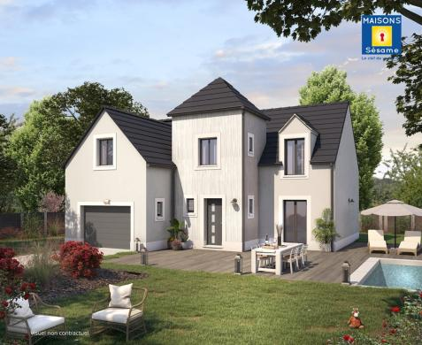 Maison+Terrain à vendre .(110 m²)(MAURECOURT) avec (MAISONS SESAME)