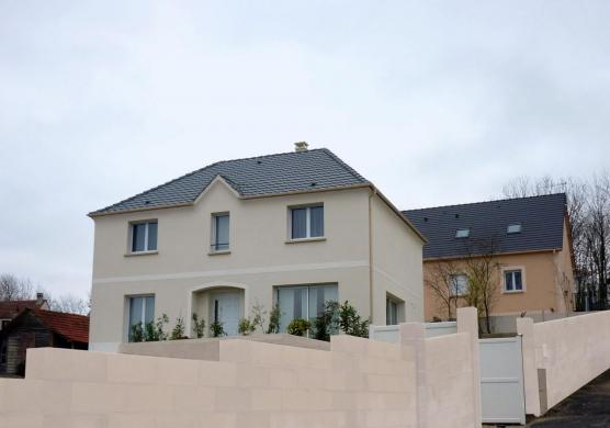 Maison+Terrain à vendre .(105 m²)(SURVILLIERS) avec (MAISONS SESAME)