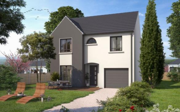 Maison+Terrain à vendre .(120 m²)(ERMONT) avec (MAISONS SESAME)