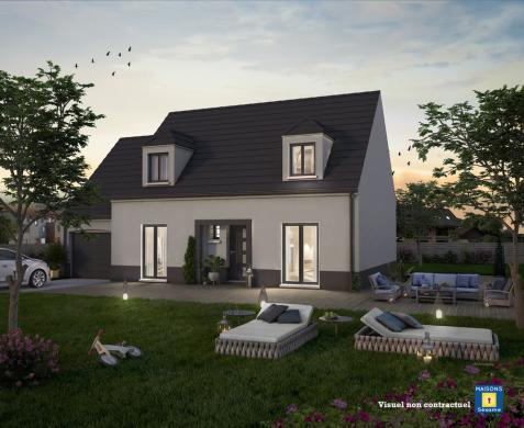 Maison+Terrain à vendre .(100 m²)(CHAUMES EN BRIE) avec (MAISONS SESAME)