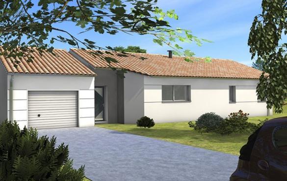 Maison+Terrain à vendre .(104 m²)(LA RENAUDIERE) avec (CARRENEUF AGENCE DE CHOLET)