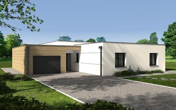 Maison+Terrain à vendre .(89 m²)(ROUSSAY) avec (CARRENEUF AGENCE DE CHOLET)