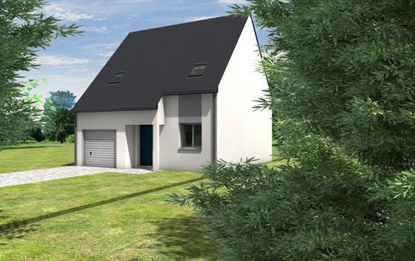 Maison+Terrain à vendre .(82 m²)(LONGUE JUMELLES) avec (CARRENEUF AGENCE DE SAUMUR)