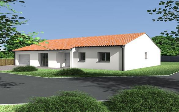 Maison+Terrain à vendre .(86 m²)(ROIFFE) avec (CARRENEUF AGENCE DE SAUMUR)