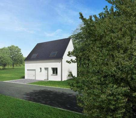 Maison+Terrain à vendre .(80 m²)(LONGUE JUMELLES) avec (CARRENEUF AGENCE DE SAUMUR)