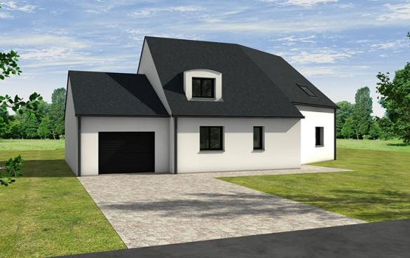 Maison+Terrain à vendre .(125 m²)(VARRAINS) avec (CARRENEUF AGENCE DE SAUMUR)