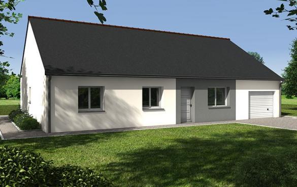Maison+Terrain à vendre .(83 m²)(BEAUFORT EN VALLEE) avec (CARRENEUF AGENCE DE SAUMUR)