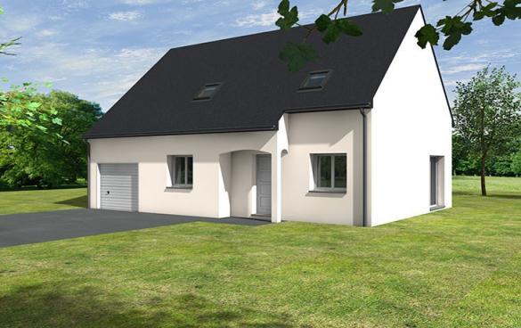 Maison+Terrain à vendre .(100 m²)(BEAUFORT EN VALLEE) avec (CARRENEUF AGENCE DE SAUMUR)