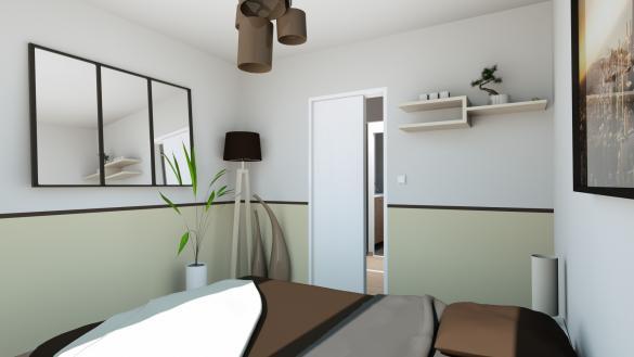 Maison+Terrain à vendre .(140 m²)(VILLECRESNES) avec (MAISONS SESAME)