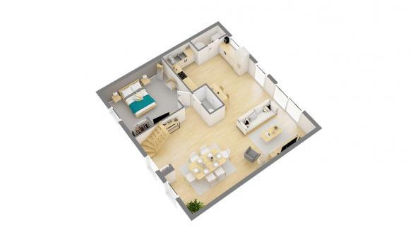 Maison+Terrain à vendre .(115 m²)(PONT AUDEMER) avec (Maisons PHENIX Lisieux)