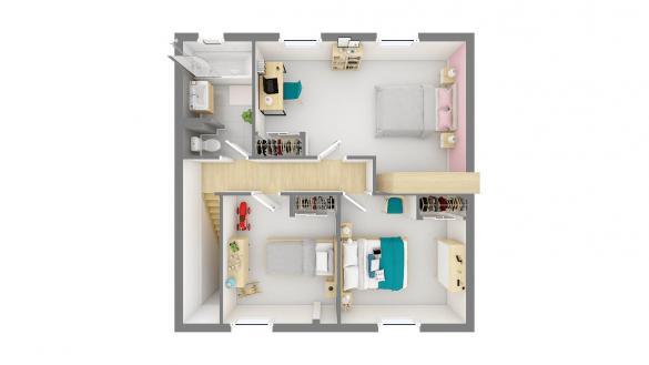 Maison+Terrain à vendre .(90 m²)(LA REMUEE) avec (Maisons Phénix Le Havre)