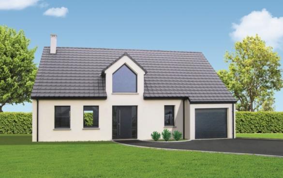 Maison+Terrain à vendre .(125 m²)(SAINT JOUIN BRUNEVAL) avec (MAISON FAMILIALE)