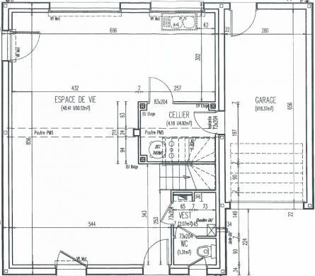 Maison+Terrain à vendre .(110 m²)(SAINT ROMAIN DE COLBOSC) avec (MAISON FAMILIALE)