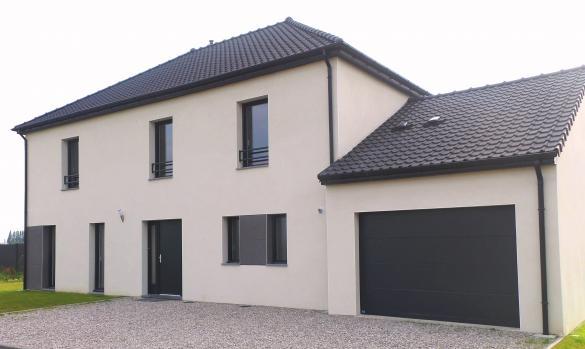Maison+Terrain à vendre .(140 m²)(MANNEVILLETTE) avec (MAISON FAMILIALE)