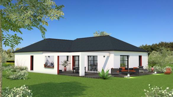 Maison+Terrain à vendre .(120 m²)(SAVENAY) avec (Maison Briot Saint-Nazaire)