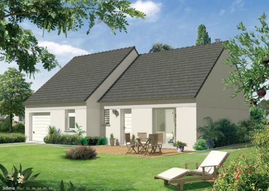 Maison+Terrain à vendre .(90 m²)(JOURNY) avec (Maison Familiale Wizernes)