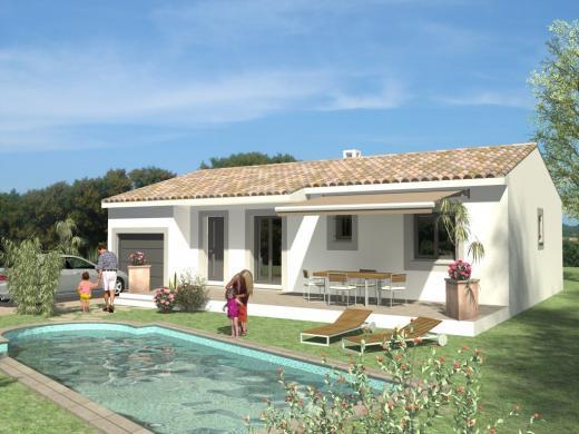Maison+Terrain à vendre .(85 m²)(CAZEDARNES) avec (MAISONS VERTES DE L AUDE - VILLENEUVE LES BEZIERS)