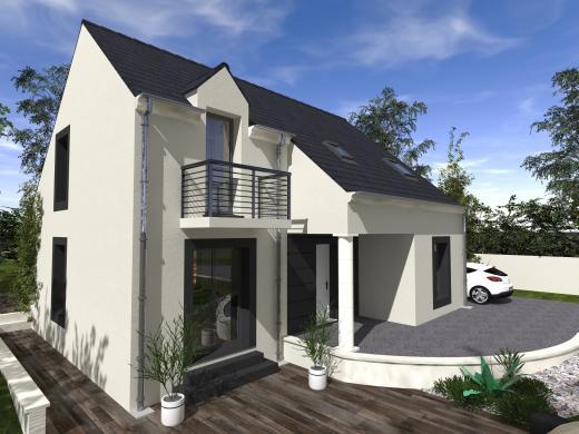 Maison+Terrain à vendre .(127 m²)(CHAMPCUEIL) avec (Les Maisons Lelievre)