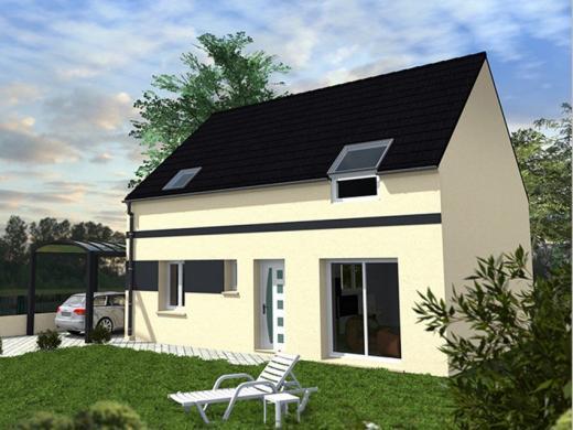 Maison+Terrain à vendre .(96 m²)(EVRY GREGY SUR YERRE) avec (Les Maisons Lelievre)