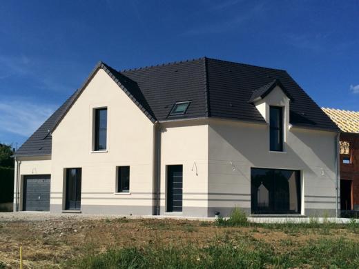 Terrain à vendre .(312 m²)(MEAUX) avec (Les Maisons Lelievre)