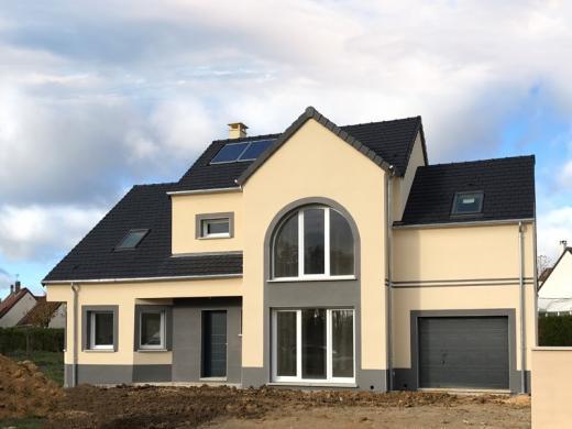 Terrain à vendre .(420 m²)(CHANGIS SUR MARNE) avec (Les Maisons Lelievre)