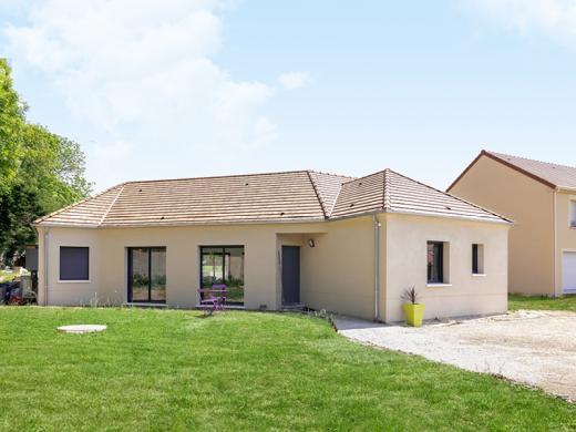 Terrain à vendre .(500 m²)(LUZANCY) avec (Les Maisons Lelievre)