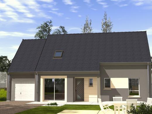Maison+Terrain à vendre .(115 m²)(NOAILLES) avec (Les Maisons Lelievre)