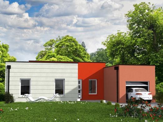 Maison+Terrain à vendre .(85 m²)(SABLE SUR SARTHE) avec (Les Maisons Lelievre)