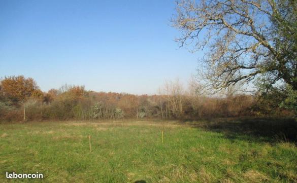 Terrain à vendre .(1550 m²)(FRONTENAC) avec (CMON TOIT LIBOURNE)