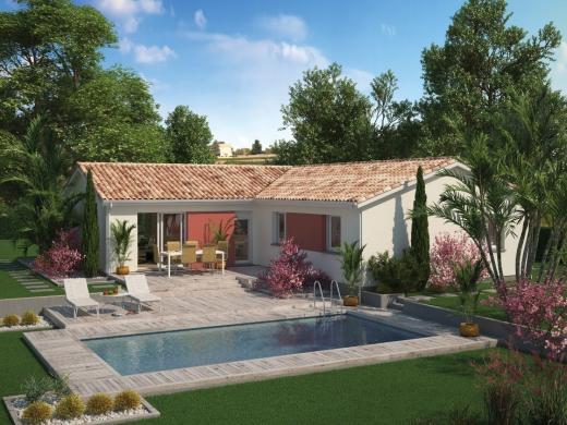 Maison+Terrain à vendre .(115 m²)(SAINT AUBIN DE MEDOC) avec (Maisons MCA Saint Médard en Jalles)