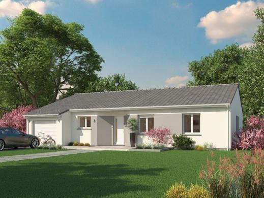 Maison+Terrain à vendre .(92 m²)(ARTIGUES PRES BORDEAUX) avec (Maisons MCA Saint Médard en Jalles)