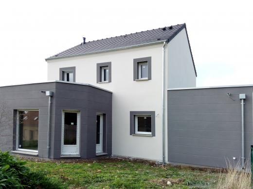 Terrain à vendre .(275 m²)(PIERRELAYE) avec (Les maisons Lelievre)