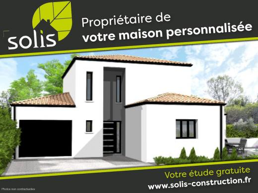Maison à vendre .(109 m²)(FONTCOUVERTE) avec (SOLIS CONSTRUCTION - AGENCE DE SAINTES)