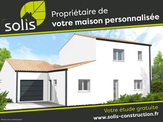 Maison à vendre .(110 m²)(SAINTES) avec (SOLIS CONSTRUCTION - AGENCE DE SAINTES)