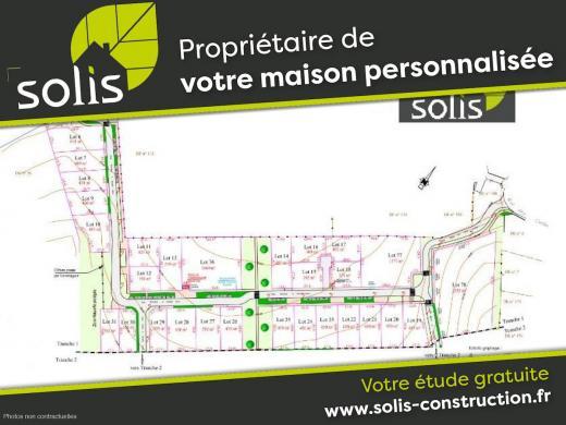 Terrain à vendre .(SAINTES) avec (SOLIS CONSTRUCTION - AGENCE DE SAINTES)