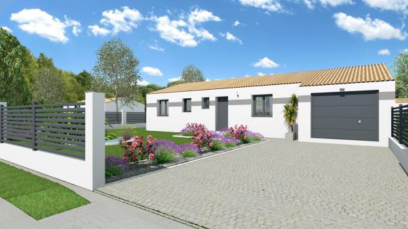 Maison+Terrain à vendre .(115 m²)(SAINT FORT SUR GIRONDE) avec (LES MAISONS CHANTAL B)
