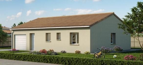 Maison+Terrain à vendre .(106 m²)(LES MATHES) avec (LES MAISONS CHANTAL B)