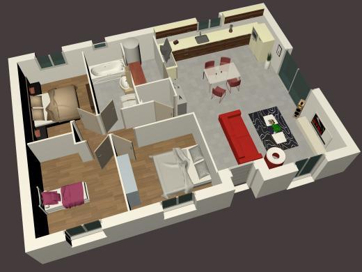 Maison+Terrain à vendre .(91 m²)(CHARLY) avec (MAISONS STILL)
