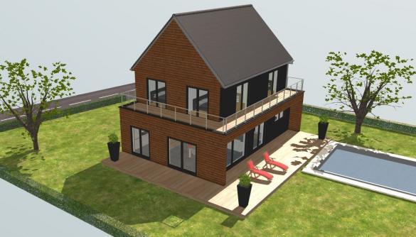 Maison+Terrain à vendre .(122 m²)(EGUENIGUE) avec (BOOA CONSTRUCTEUR)