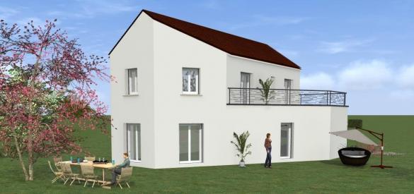 Maison à vendre .(120 m²)(TORCY) avec (MAISONS VESTALE 78)