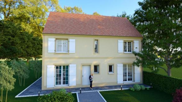 Maison à vendre .(123 m²)(PARMAIN) avec (MAISONS VESTALE 95)