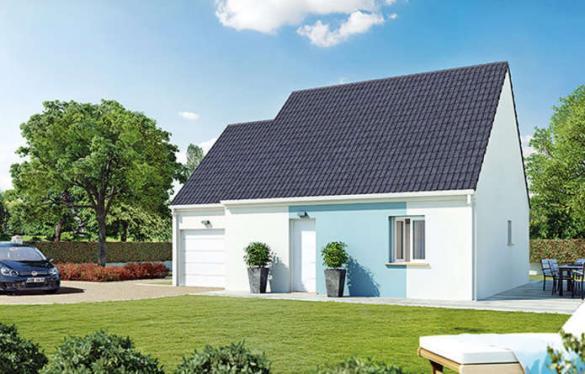 Maison à vendre .(70 m²)(PRUNAY EN YVELINES) avec (VILLAS CLUB EVRY)