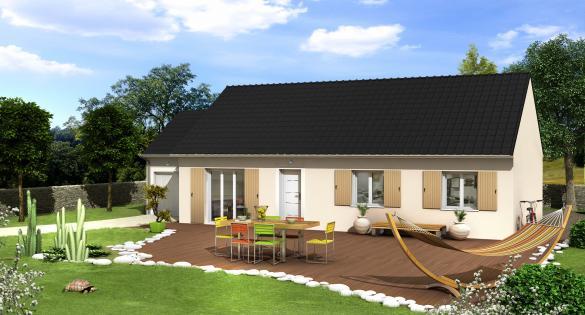 Maison à vendre .(90 m²)(LONGNES) avec (VILLAS CLUB EVRY)