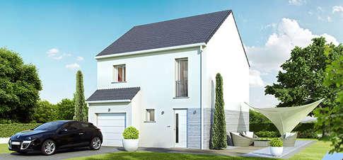 Maison à vendre .(85 m²)(LONGNES) avec (VILLAS CLUB EVRY)