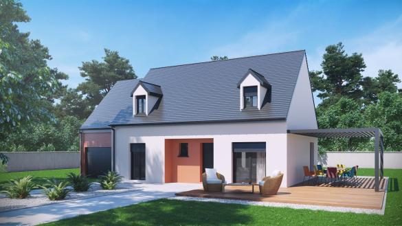 Terrain à vendre .(1038 m²)(LONGAVESNES) avec (VILLAS-CLUB)