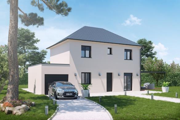 Terrain à vendre .(850 m²)(PARVILLERS LE QUESNOY) avec (VILLAS-CLUB)
