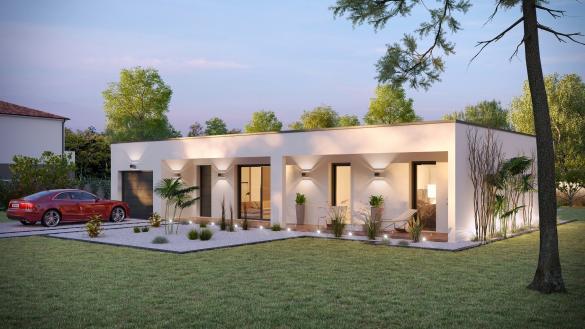 Maison+Terrain à vendre .(90 m²)(HEBECOURT) avec (VILLAS-CLUB)