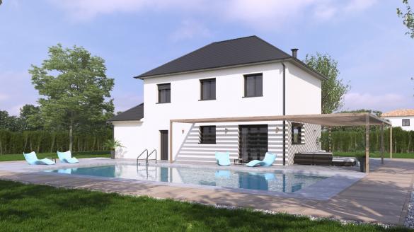 Maison+Terrain à vendre .(82 m²)(SAILLY LAURETTE) avec (VILLAS-CLUB)