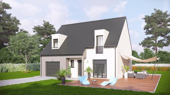 Maison+Terrain à vendre .(98 m²)(FREMONTIERS) avec (VILLAS-CLUB)