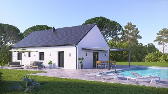 Terrain à vendre .(853 m²)(BRIE) avec (VILLAS-CLUB)